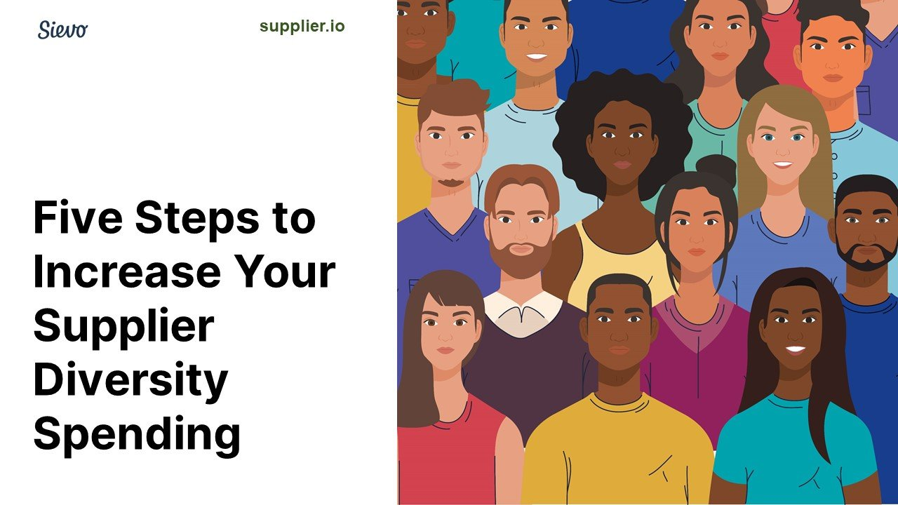 5 Steps to Growing your supplier diversity spend